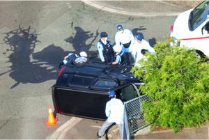 交通事故のイメージ写真